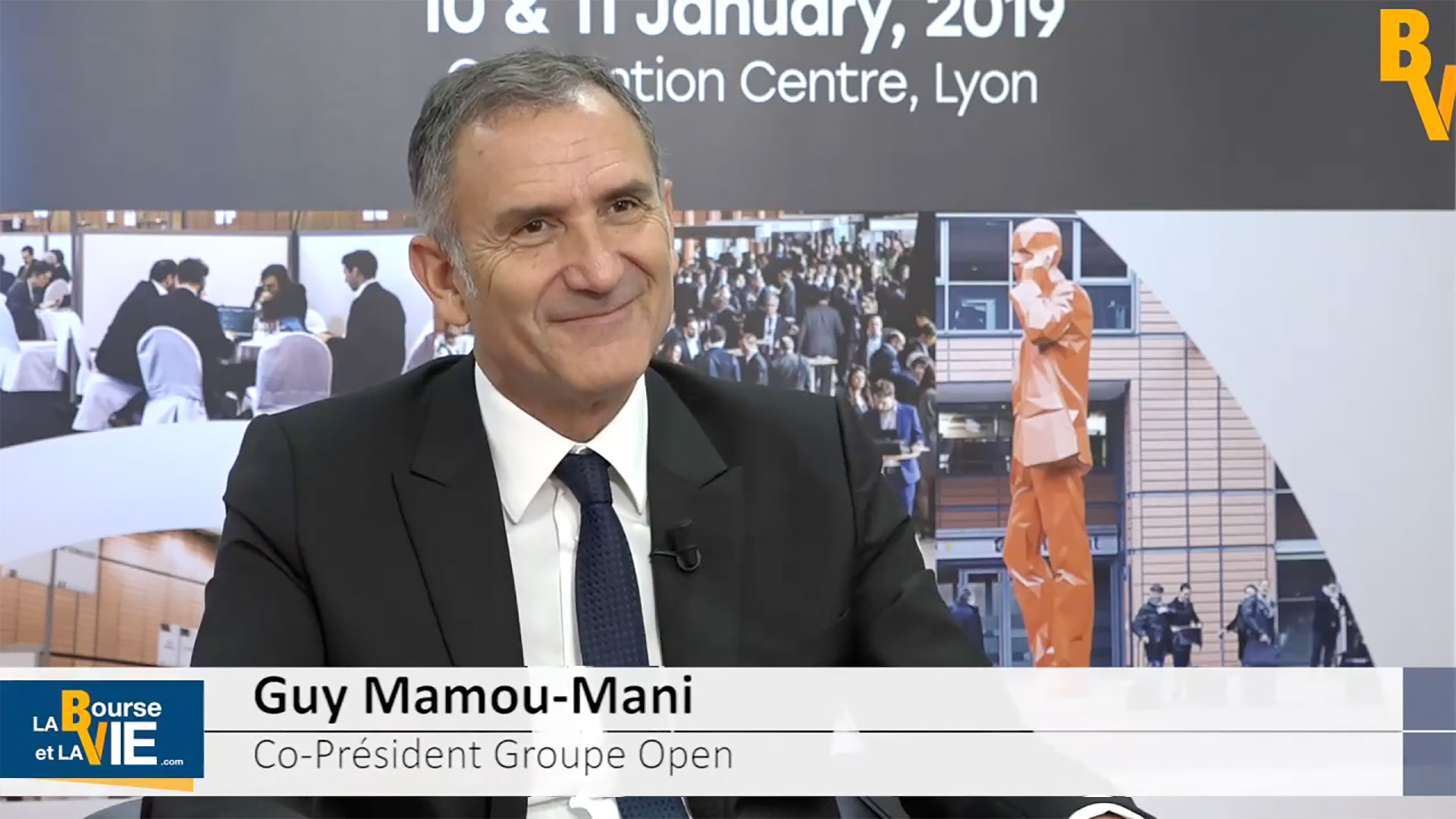 Guy Mamou-Mani : interviewé par la Bourse et la Vie TV